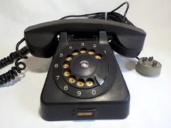 Régi tárcsás bakelit telefon , Telefongyár