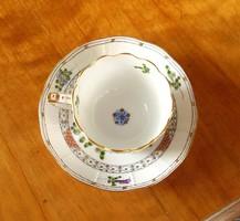 Herendi kávés / mokkás csésze és alátét - Waldstein minta
