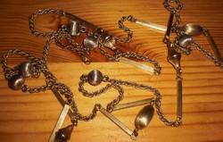 Arany golyós collier nyaklánc *333as arany & 110 cm