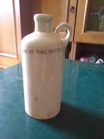 Unikum likörgyár kerámia palack gránit.