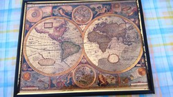 Régi térkép nyomat