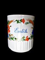 Zsolnay antik pipacsos csésze