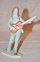 Aquincum gitáros lány