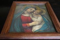 Szűz any a kis Jézussal
