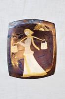 Orosz réz falikép 02  ( DBZ 00102 )