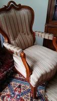 Neobarokk karosszék /támlás fotel