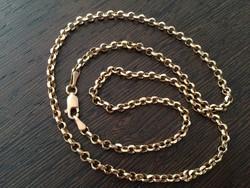 Arany nyaklánc *585ös arany & 60 cm