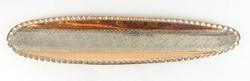 0S210 Közel-keleti ezüstözött fali dísz