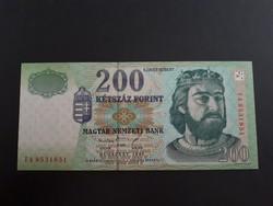 200 Forint 1998 FA  UNC