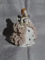 Tüll ruhas miniatür hölgy