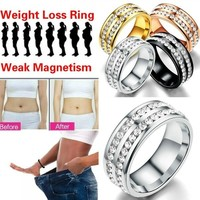 Fogyást elősegítő mágneses gyűrű  8-as  ÚJ!