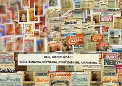 1963 szeptember 6  /  AUTÓ - MOTOR  /  SZÜLETÉSNAPRA RÉGI EREDETI ÚJSÁG Szs.:  3610