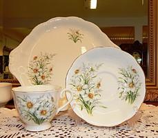 """Royal Albert """"Narcissus"""" rendkívül ritka teáskészlet és süteményes készlet!"""