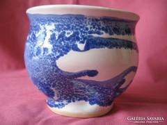 Kézműves kerámia váza