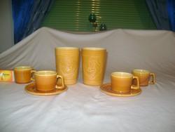 Retro gránit csészék