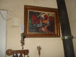 Festmény- Németh