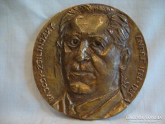W.B. Bajcsy Zsilinszky Endre 1886-1986 plakett
