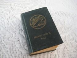 Mini könyv  ,A magyar papíripari szakmunkások névsora 1984 , a papír gyárak szerint