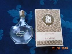 """LALIQUE eredeti francia NINA RICCI """"FAROUCHE""""(=félénk) parfümös üveg 100 ml ,dobozzával"""