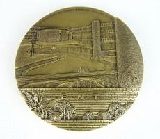 0R917 Thérèse DUFRESNE bronz plakett
