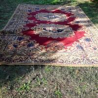 100% gyapjú gyönyörű 253x353cm perzsa szönyeg