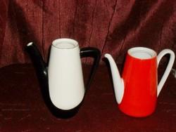 2db porcelán kávékiöntő!  ( DBZ0056 )