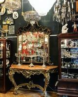 Barokk stílusú nagy méretű tükör  