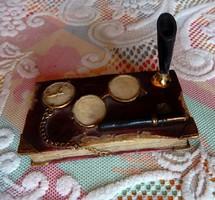 Antik tolltartó íróasztalra