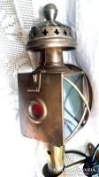Antik hintó lámpa, kocsis lámpa
