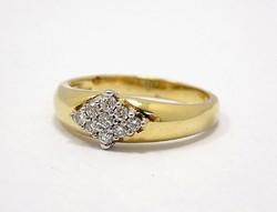 Köves arany gyűrű (ZAL-Au73086)