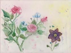 Fali kép - Rózsák
