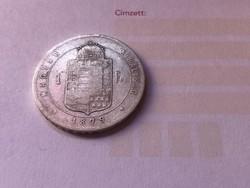 1879 ezüst 1 forint