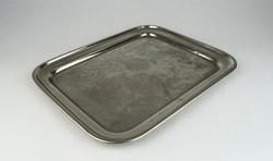 0S314 Antik Weingruber ezüstözött alpakka tálca