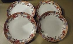4 db Sarreguemines süteményes tányér