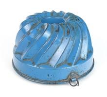 0S366 Régi cukrászati eszköz kuglófsütő forma