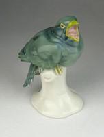 0P019 Passau porcelán madár figura 14 cm