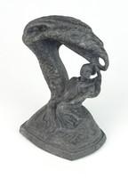 0Q223 Fryderyk Chopin emlékmű szobor 15 cm