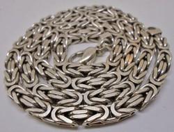 Gyönyörű vastag ezüst férfi nyaklánc 130g 350ft/gramm