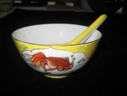 Régi kínai  teás   csésze  az 50 es évekből  10,5 cm