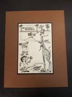 Byssz Róbert sport karikatúra Dzsungel-Oliympia