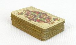 0S494 Régi kisméretű 32 lapos magyar kártya
