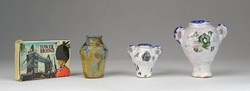 0S508 Régi kisméretű kerámia váza csomag 3 darab