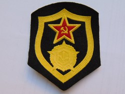 Szovjet katonai karjelzés / fegyvernemi jelzések