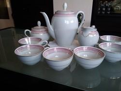 Reinecke német porcelán kávés, cappuccinos készlet .
