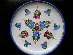 Kézi festésű J. GRAF STOOB fali tányér