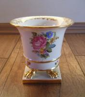 Herendi Petit Bouquet de Rose mintás váza