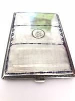 Antik ezüst cigaretta tárca