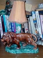 Kerámia figurális lámpa