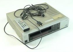 0S890 JVC HR-D158MS VHS lejátszó felvevő