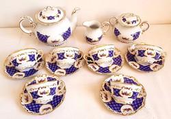 Zsolnay Marie Antoinette 6 sz.Teás készlet I.oszt. vitrin állapotban!
